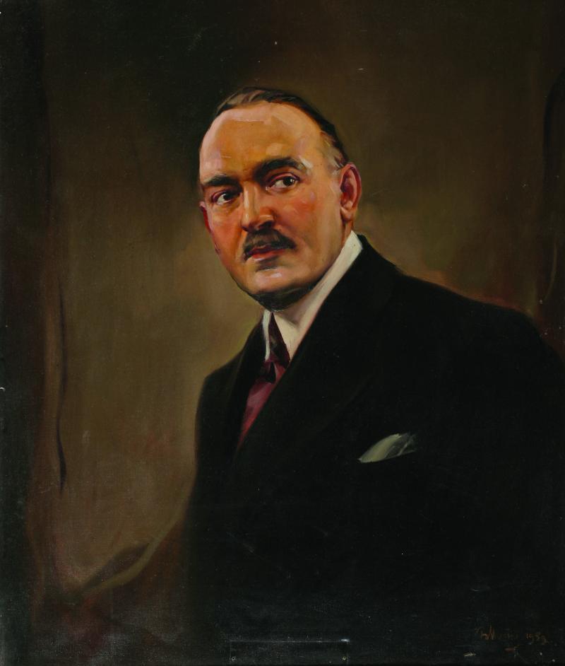 Portrait of Ivan Hadzhipetrov