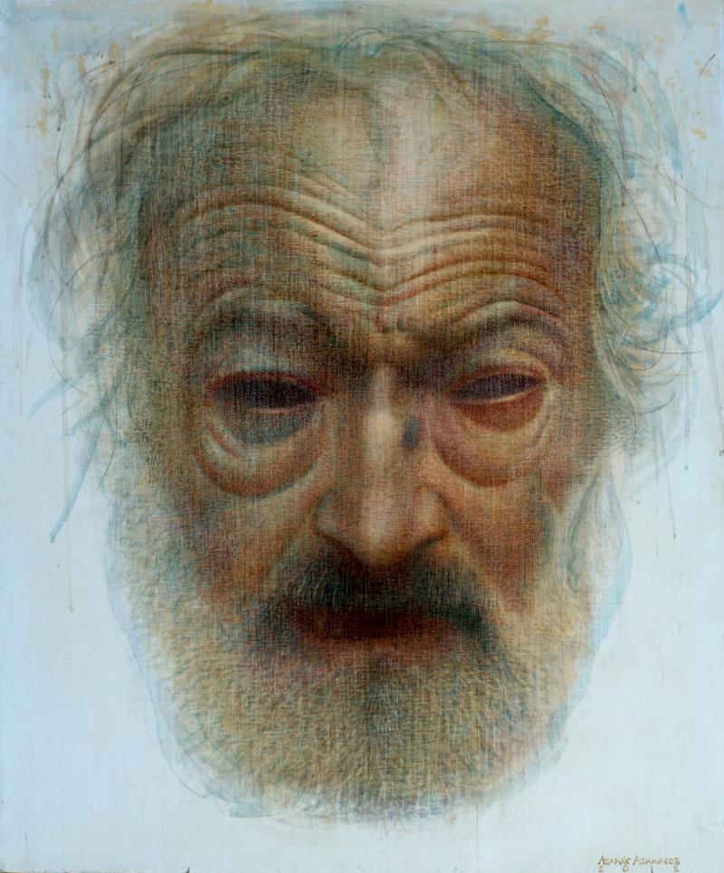 The artist-Portrait of Genko Genkov
