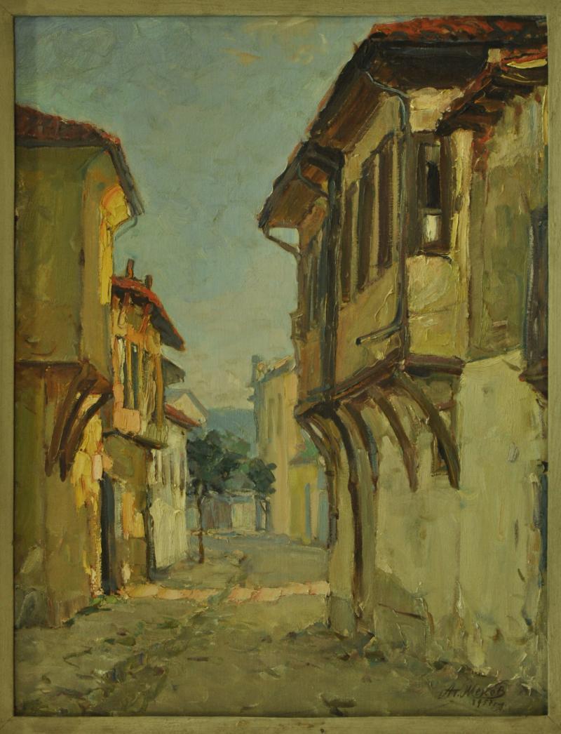 Street in Kazanlak