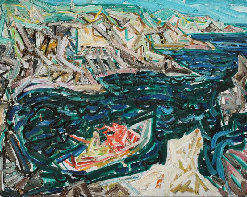 Лодка във фиордите