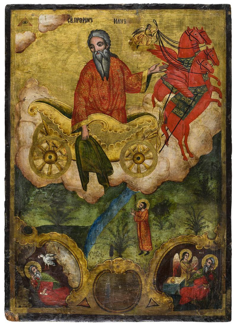 Възнесение на св. Пророк Илия