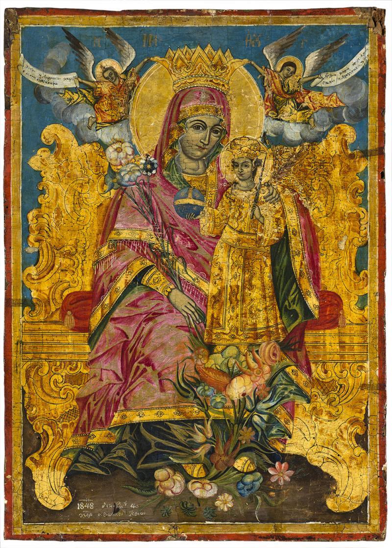 Св. Богородица неувяхваща роза